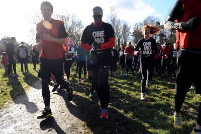 Sometimes celebrity runners like Mo Farah turn up for 5K events.