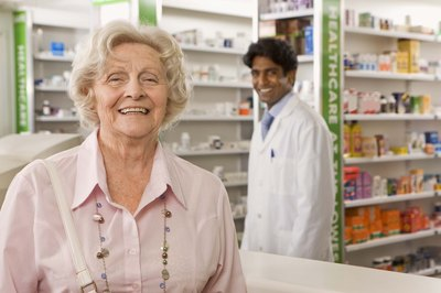 Helping customers and keeping them happy is one of a pharmacy intern's many duties.