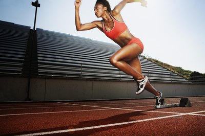 Sprinting is fast and is more anaerobic than aerobic.
