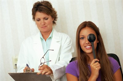 Optical assistants handle a combination of clinical and clerical duties.