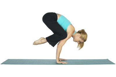 Knees on elbow pose strengthens your abs, arms and wrists.