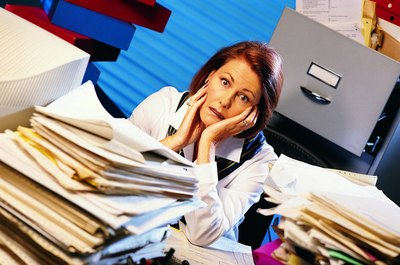 Disorganization in the office can be a reflection of the state of the company.
