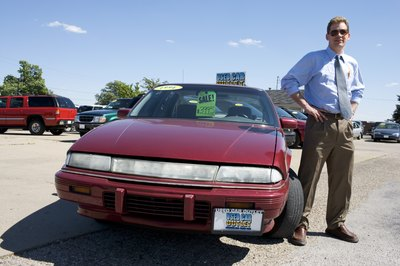 Used-car buyers should get a tune-up and an inspection before driving.