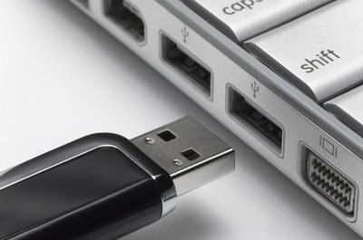 Flash drives can introduce viruses into company's computer systems.