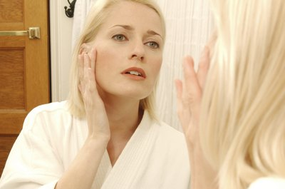 Doing facial yoga may encourage wrinkles.