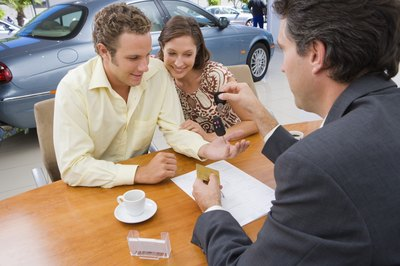 Car loan lenders use the financed vehicle to secure the debt.