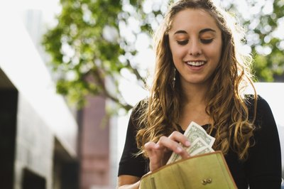 Help a teen understand where her money goes.