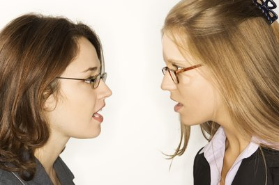 Female workplace bullies often use verbal abuse to intimidate their victims.