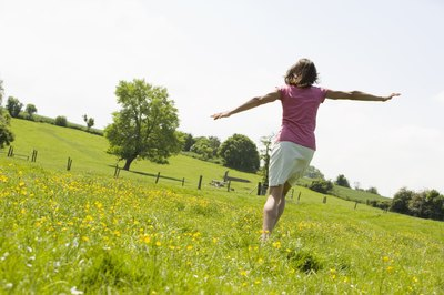 Skipping brings back childhood memories of playground fun.