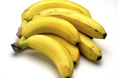 Bananas make a great addition to breakfast or an afternoon snack.