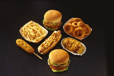 Unhealthy foods may cause health problems.