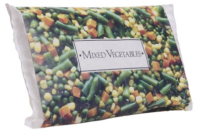 Frozen vegetables are cheaper and last longer than fresh.