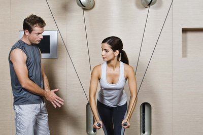 Beginners may benefit from an experienced training partner at their side.