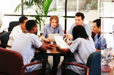 Many internships require team meeting attendance.