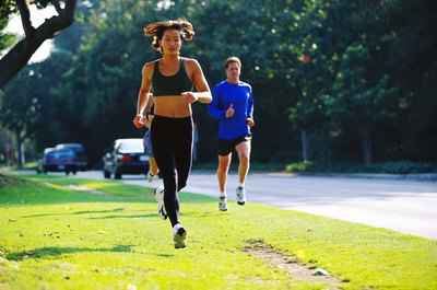 Sometimes frequent running can cause your breasts to lose weight.