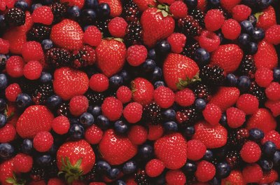 Fresh berries are a potent brain food.