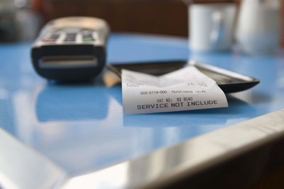 Some restaurants charge their servers when tips are left on credit cards.