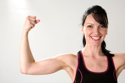 Toned and strong arms are a beautiful accessory.