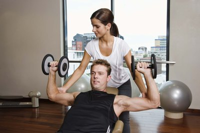 An incline bench is needed to perform incline shoulder press.