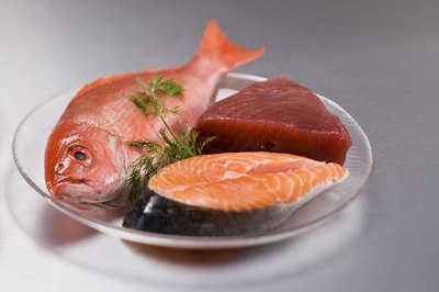 Fish and fish oil are good sources of omega-3 fats.