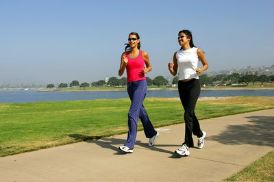 Jogging can reduce stomach fat.