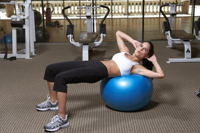 Twist with elbows pulled back for an oblique crunch.