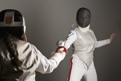 Improve your fencing skills with strength training.
