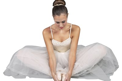 The frog-leg position with the soles of your feet together gives a stretch to the inner thighs.