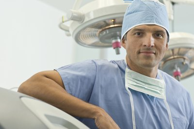 Orthopedic surgeons spend about half their work day in the OR.