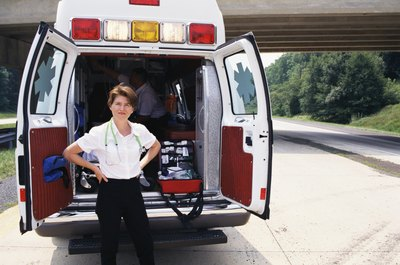 EMTs aren't often women.