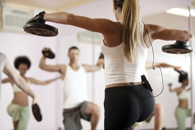Personal trainers offer one-on-one training sessions and group classes.