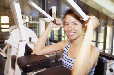 Weight machines at the gym are user-friendly and ideal for beginners.