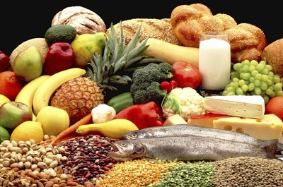 All five food groups contain vitamins and minerals - but two of the groups contain almost no fiber.