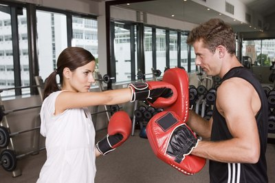 You don't need to be hit to damage your shoulders through boxing.