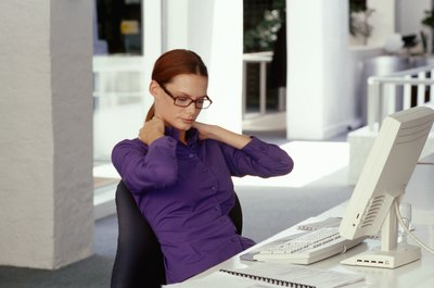 Burnout is a psychological hazard causing fatigue at work.