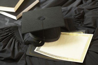 With the diploma and gown comes a new title for master's level graduates.