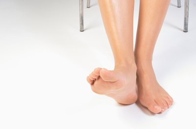 Exercise your ankles to keep them flexible.