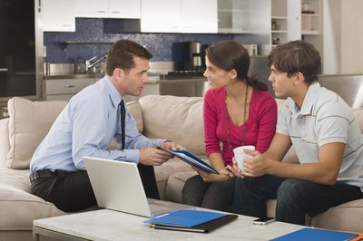 Renegotiating your mortgage helps keep you from falling behind on payments.