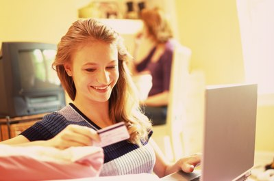 Teens need a parent's consent to get a credit card.