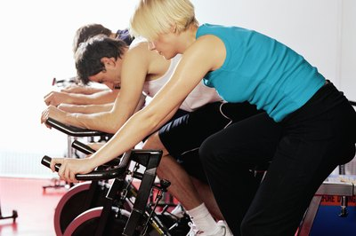 Many people benefit from workout classes because of the social setting.