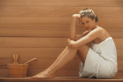 The sauna increases your heart rate, but doesn't count as exercise.