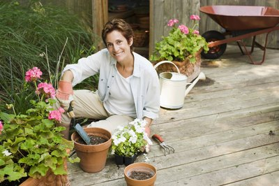 Gardening is a low-intensity aerobic activity.