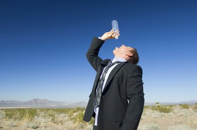 A parched throat and excessive thirst might mean you have diabetes.