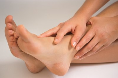 Foot cramps are common during Bikram yoga sessions.