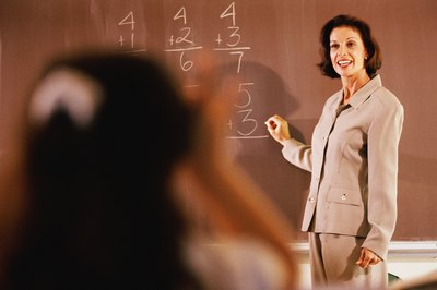 Over 50 percent of math teachers have a Master's Degree or higher, which gives them the opportunity to pursue different occupations. (See References 1)
