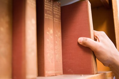 A small county may have a book system for mortgages.