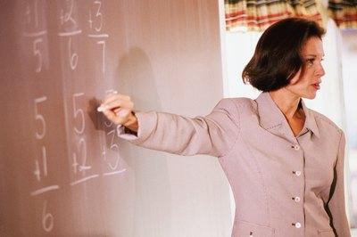 Part-time math teachers help struggling students grasp math concepts.