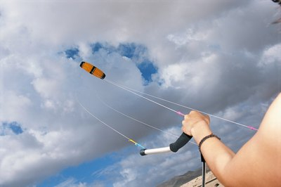 Sharpen your dryland skills by first flying a trainer kite.