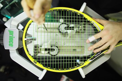 Stringing your own rackets can save you money.