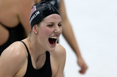 Missy Franklin peaked at the optimal time in the 2012 Olympics.